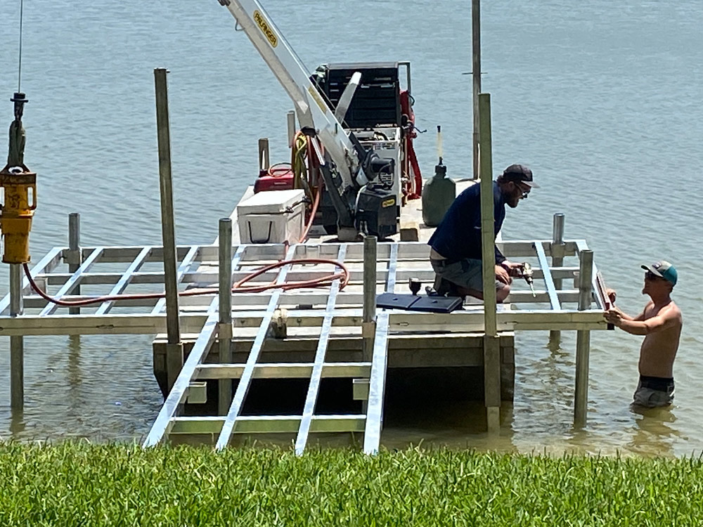 The Boat Lift Company Boat Dock and Lift Repair