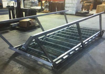 The boat lift company lake conroe livingston houston town ponds aluminum stairs